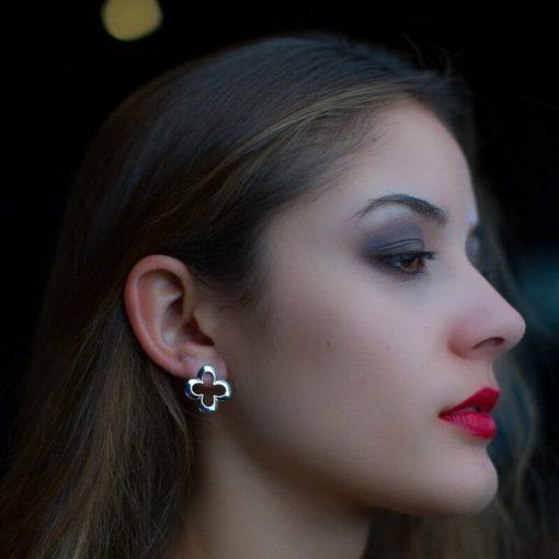 Ohrringe Sister Flore 925 Silber
