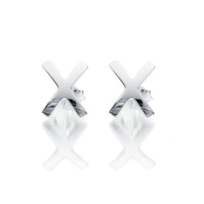 X Ohrringe Ibiza 925 Silber