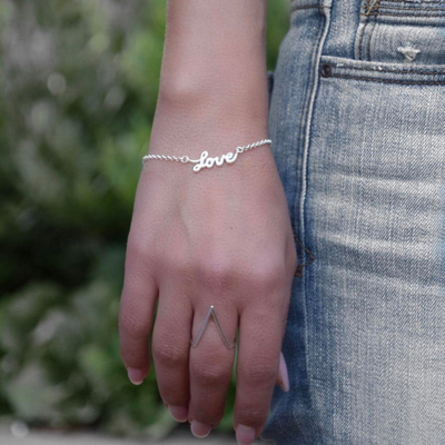 Armband Love Venedig 925 Silber