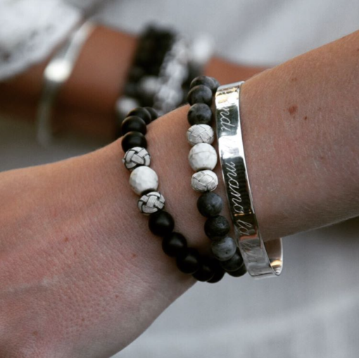 Armband Amazona 925' Silber Gravur