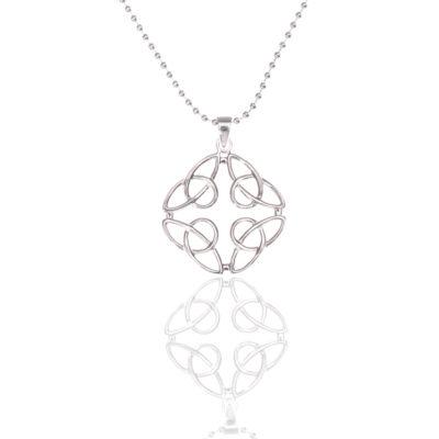 Kette Lotus Blume 925 Silber