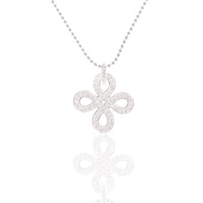 Kette Knoten Sophia 925 Silber