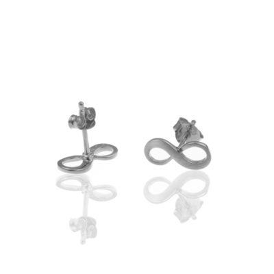 Ohrringe Infinity Diera 925 silber