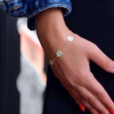 Armband Coco Confetti 925 Silber Gold