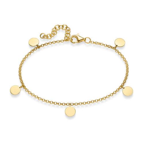 Armband Alegra 925' goldplattiert