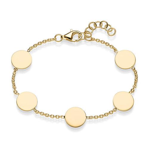 Armband Coco Confetti 925' goldplattiert GLÄNZEND