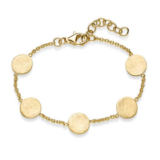 Armband Coco Confetti 925' goldplattiert