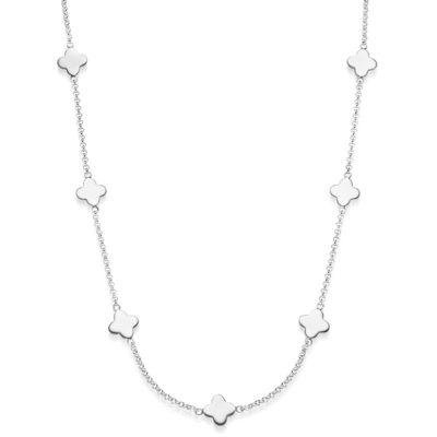 Kette Kleeblatt Adonia 925' Silber