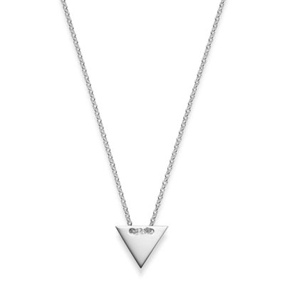 Kette Dreieck Chiara 925' Silber