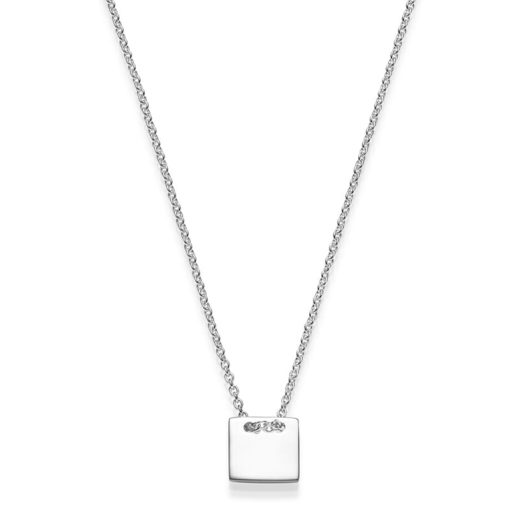 Kette Viereck Marny 925' silber