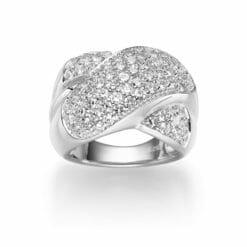Ring Dublin 925' silber Zirkonia