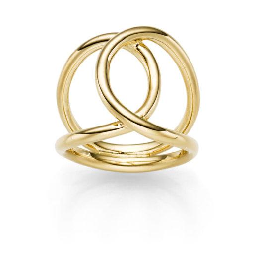 Ring ICON 925' goldplattiert