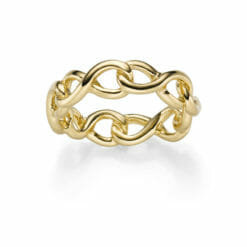 Ring Marakesch 925' goldplattiert
