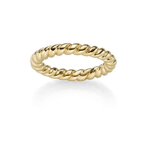 Ring Nizza 925' goldplattiert