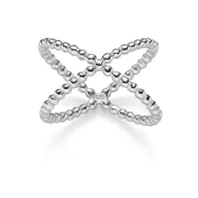 X RING SPECTRE 925′ SILBER