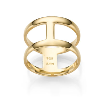 RING BOHEMIAN SOHO 925′ GOLDPLATTIERT