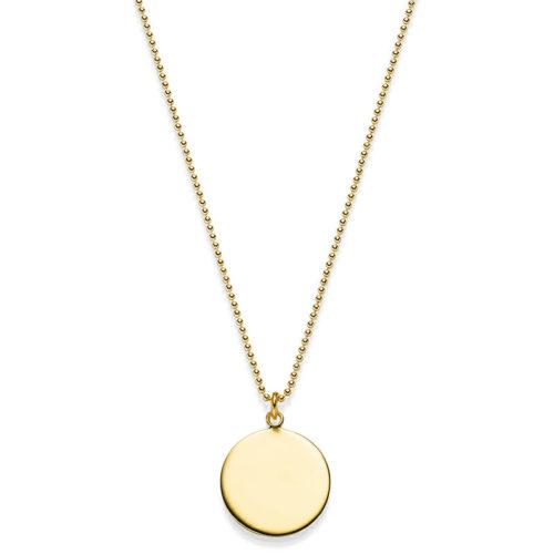 KETTE AYLIN 925′ GOLDPLATTIERT MIT GRAVUR