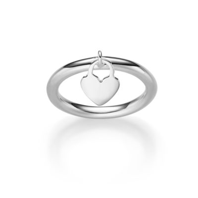 Ring Herz Leticia 925' silber