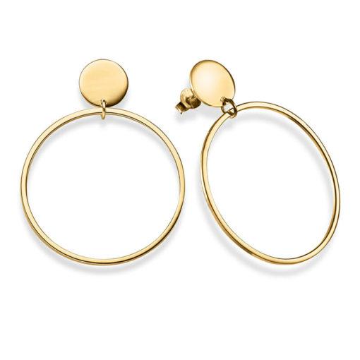 Ohrringe Alba 925' goldplattiert