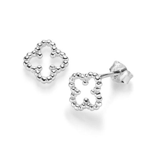 Ohrringe Kleeblatt Angelina 925′ Silber