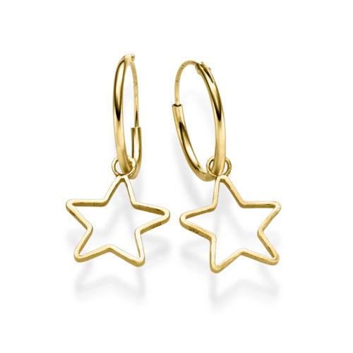Ohrringe Estrella 925' goldplattiertOhrringe Estrella 925' goldplattiert